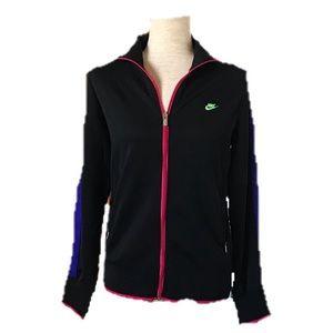Nike Multi-Color Size Large Activewear Jacket